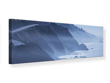 Leinwandbild Panorama Bewegung im Wasser