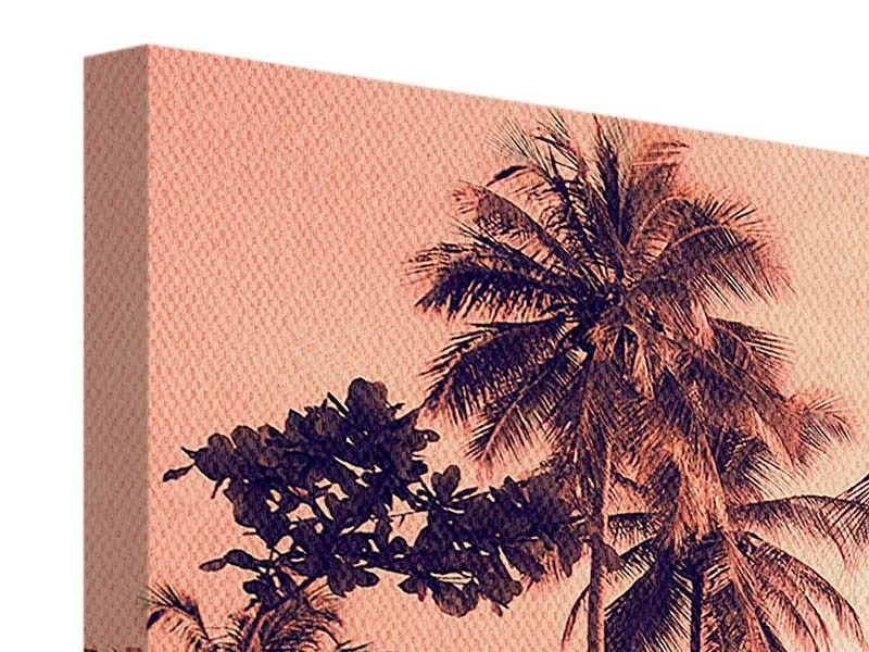 Leinwandbild Panorama Tropenparadies