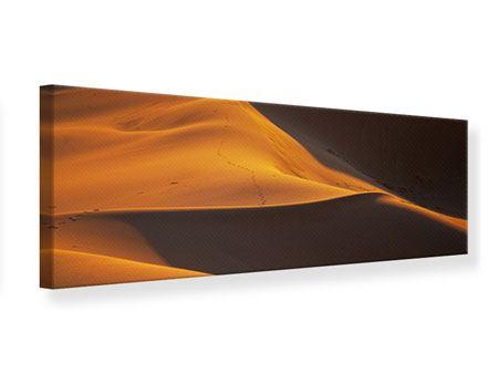 Leinwandbild Panorama Wüstensand