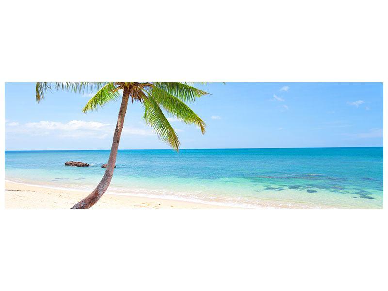 Leinwandbild Panorama Die eigene Insel