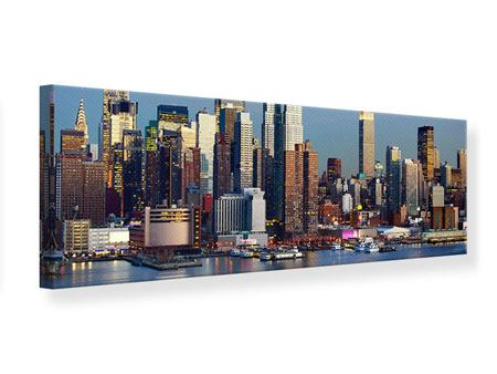Leinwandbild Panorama Skyline Midtown Manhattan