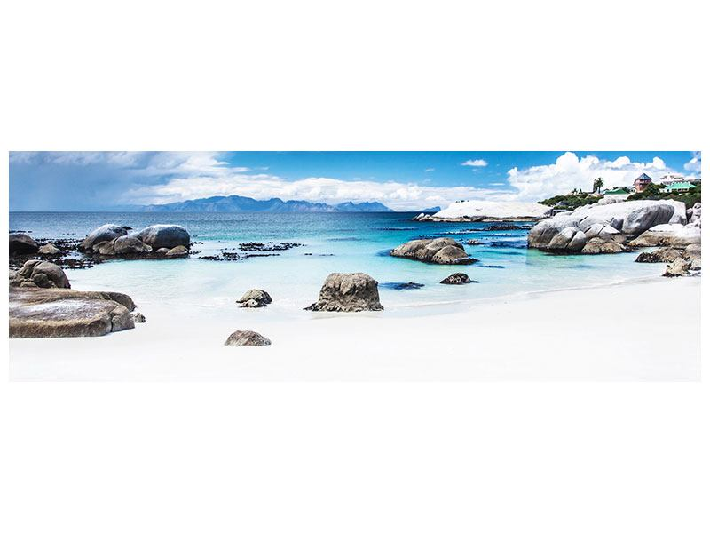 Leinwandbild Panorama Inselfeeling