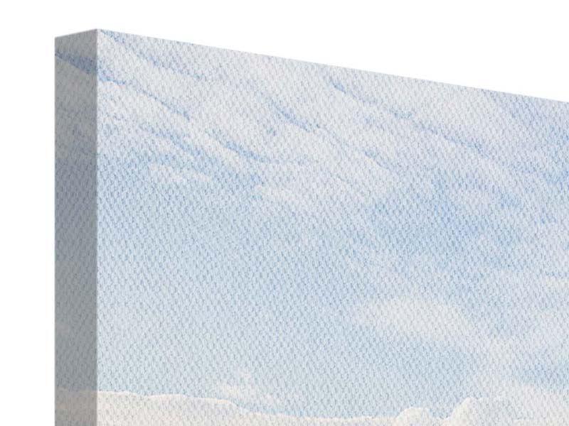 Leinwandbild Panorama Helix-Brücke