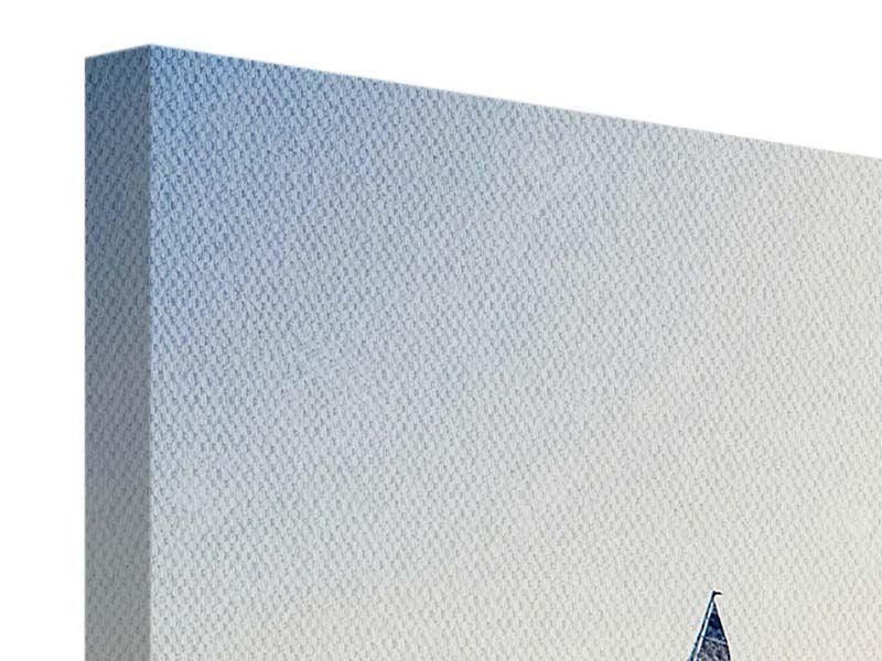 Leinwandbild Panorama Segelyacht