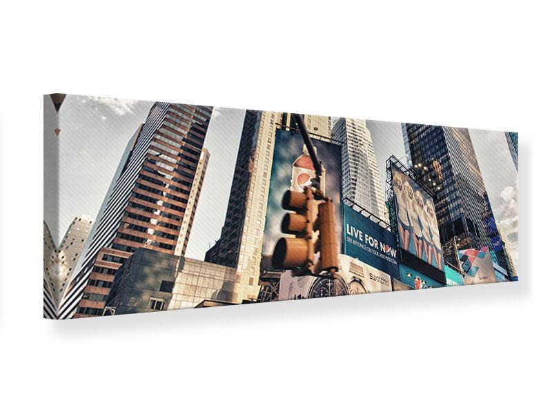 Leinwandbild Panorama Times Square