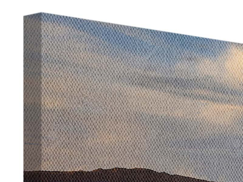 Leinwandbild Panorama Der Bromo Vulkan