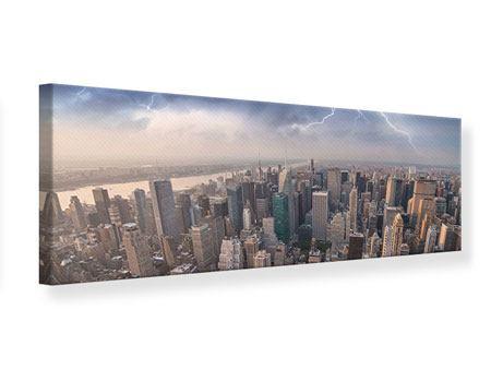 Leinwandbild Panorama Manhattan