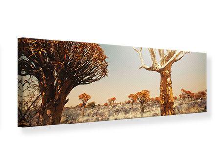 Leinwandbild Panorama Afrikanische Landschaft