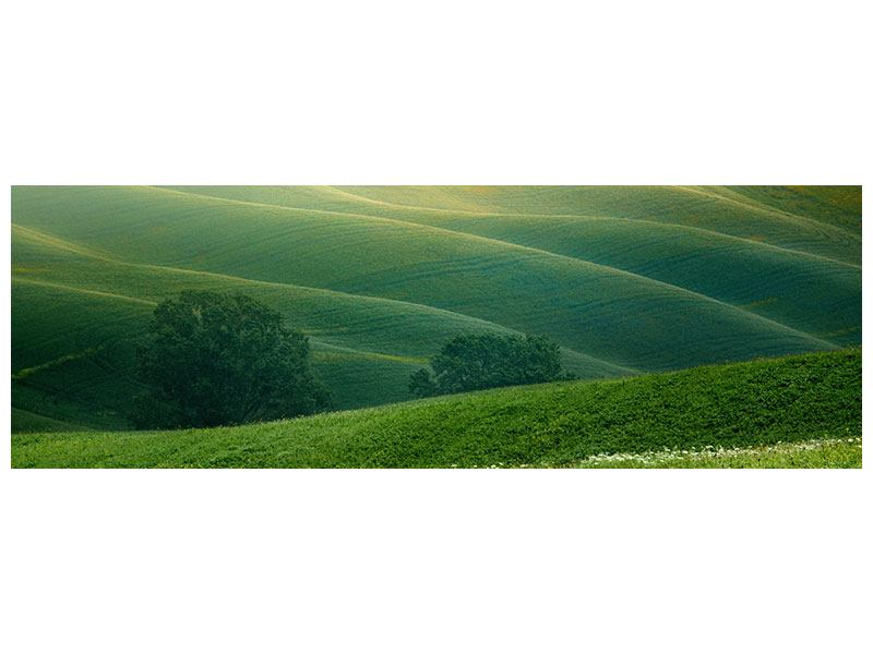 Leinwandbild Panorama Toskana