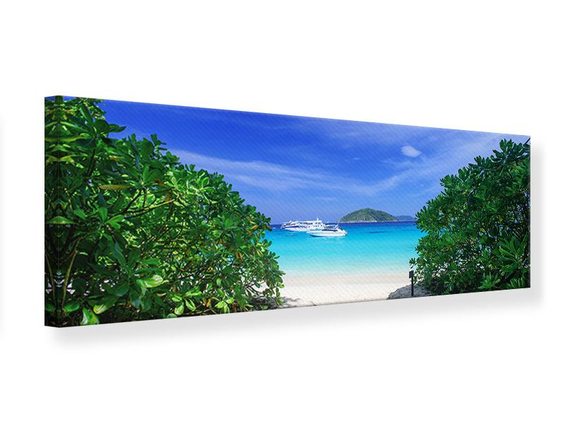 Leinwandbild Panorama Similan-Inseln