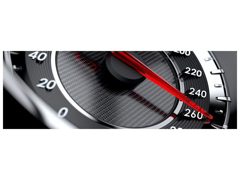 Leinwandbild Panorama Geschwindigkeit