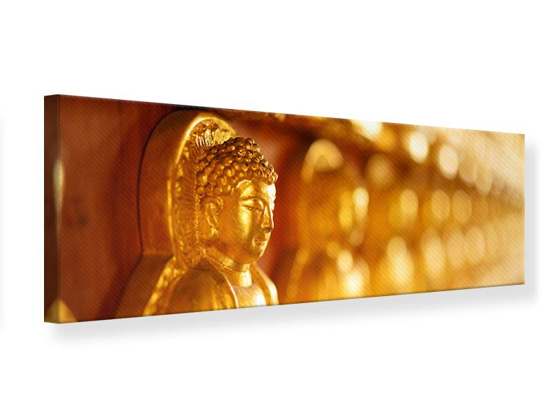 Leinwandbild Panorama Buddhas