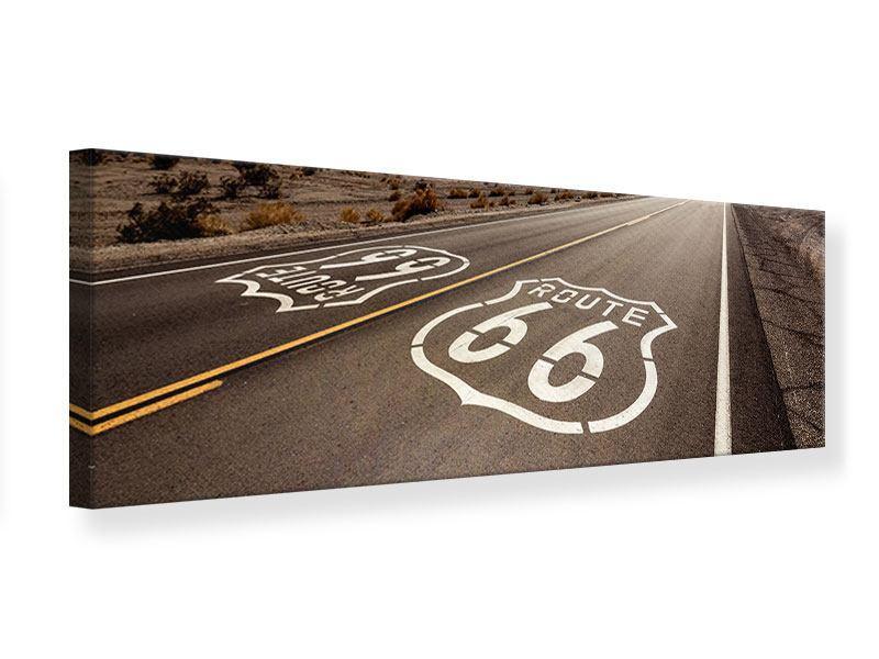 Leinwandbild Panorama Route 66