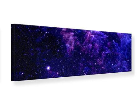 Leinwandbild Panorama Ein Himmel voll Sterne