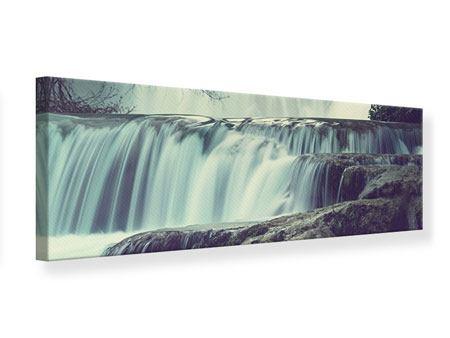 Leinwandbild Panorama Wasserfall Mexiko