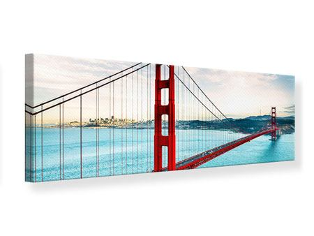 Leinwandbild Panorama Golden Gate Bridge