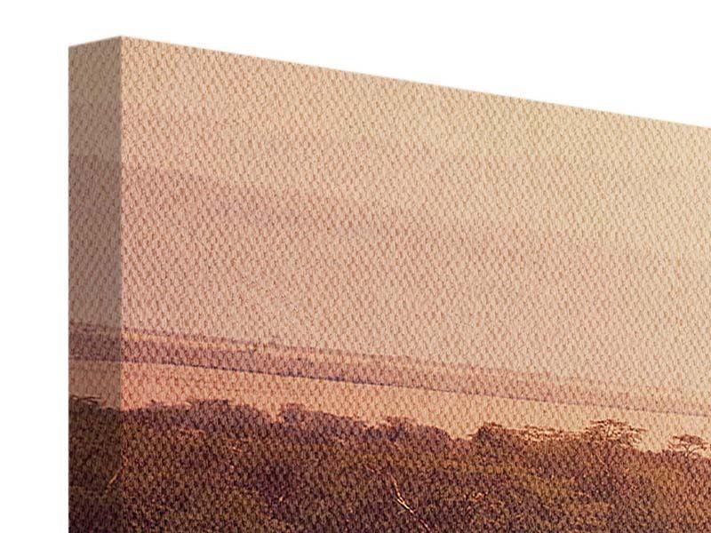 Leinwandbild Panorama Malerisches Afrika