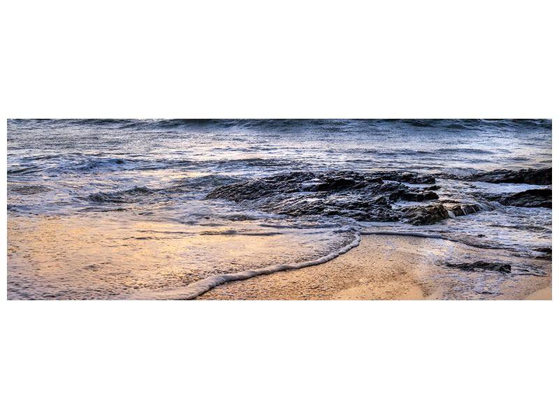 Leinwandbild Panorama Das Meer