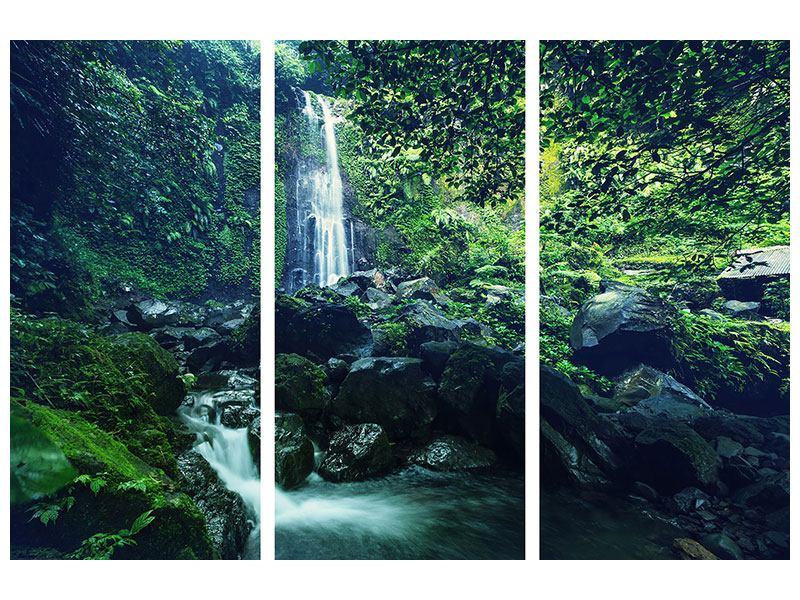 Leinwandbild 3-teilig Natur