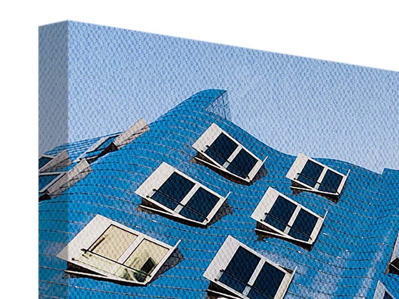 Leinwandbild 3-teilig Neuer Zollhof