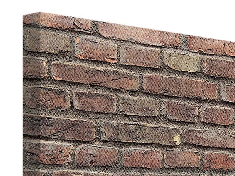 Leinwandbild 3-teilig Brick Wall