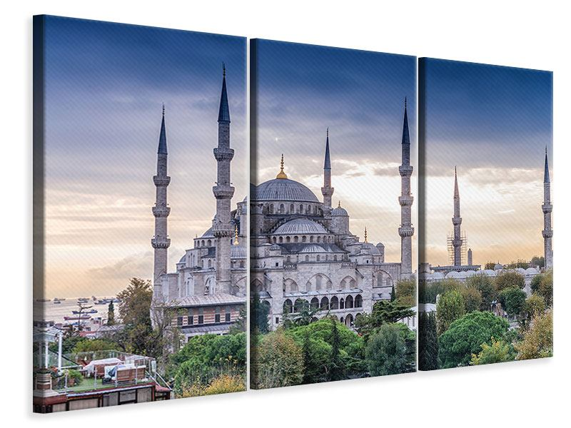Leinwandbild 3-teilig Istanbul