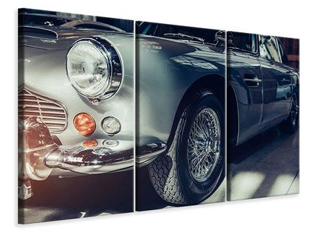 Leinwandbild 3-teilig Classic Car
