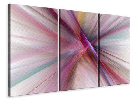 Leinwandbild 3-teilig Abstraktes Lichterleuchten