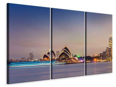 Leinwandbild 3-teilig Opera House