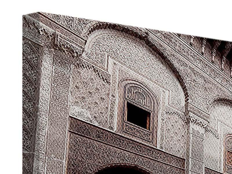 Leinwandbild 3-teilig Orientalischer Hinterhof
