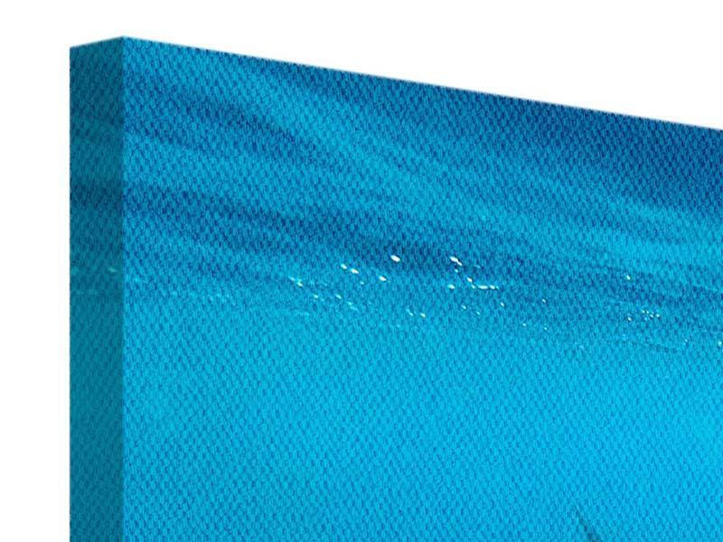 Leinwandbild 3-teilig Der Walhai