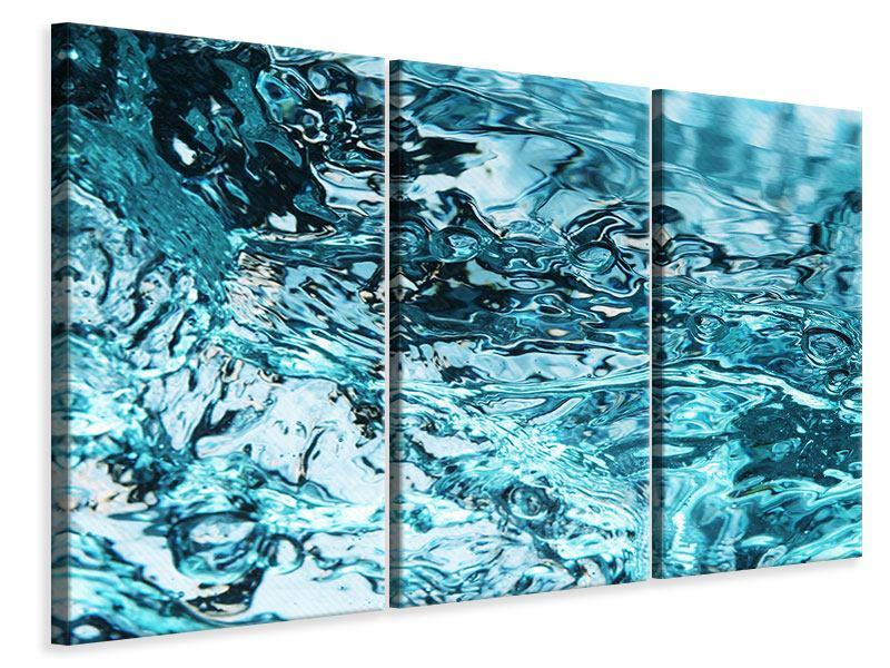Leinwandbild 3-teilig Schönheit Wasser