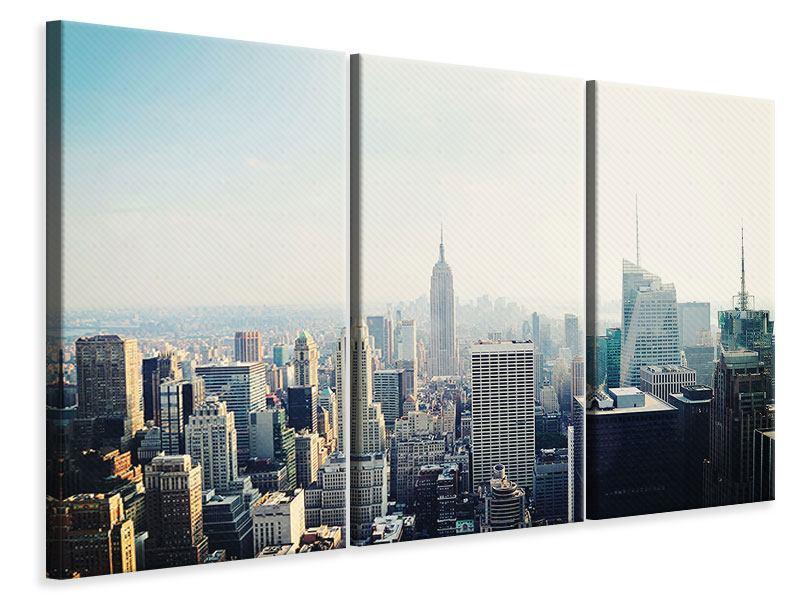 Leinwandbild 3-teilig NYC