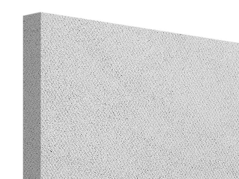 Leinwandbild 3-teilig Beton in Hellgrau