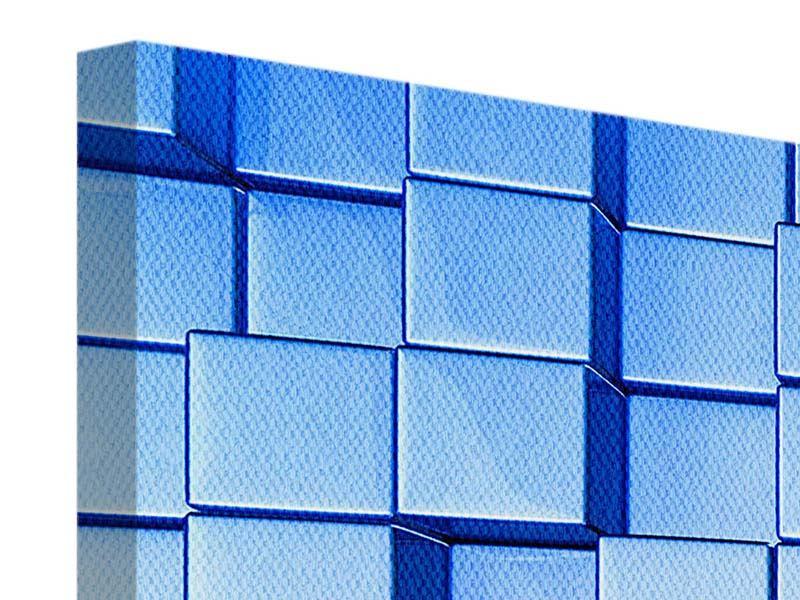 Leinwandbild 3-teilig 3D-Symetrie