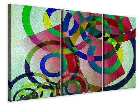 Leinwandbild 3-teilig Wandkunst