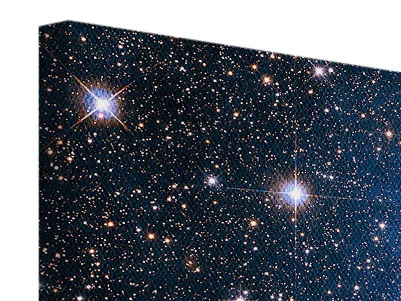 Leinwandbild 3-teilig Sternenhimmel