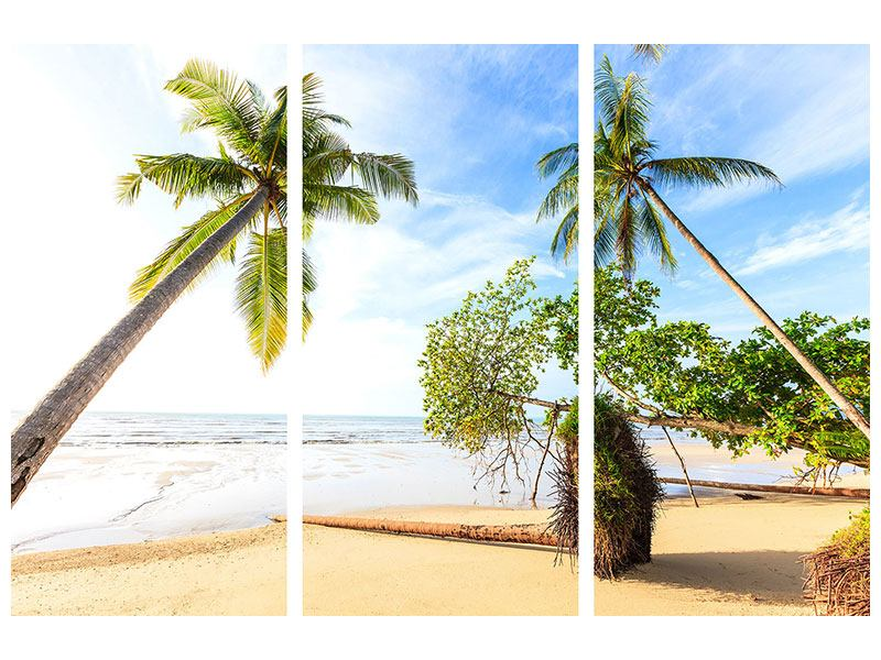 Leinwandbild 3-teilig Bang Sak Bucht