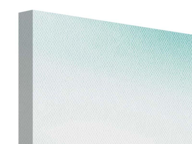 Leinwandbild 3-teilig Das Wattenmeer