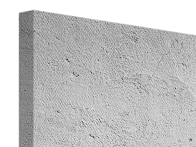 Leinwandbild 3-teilig Beton