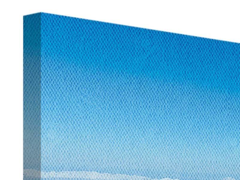 Leinwandbild 3-teilig Über den Wolken