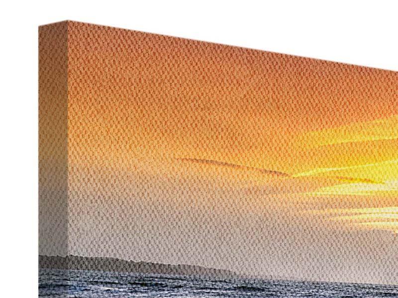 Leinwandbild 3-teilig Das Meer