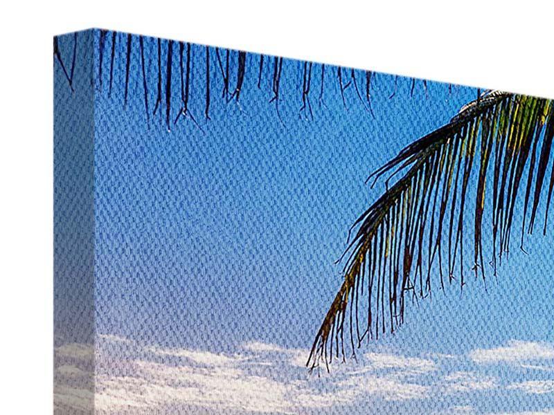 Panorama Leinwandbild 3-teilig Sandkörner