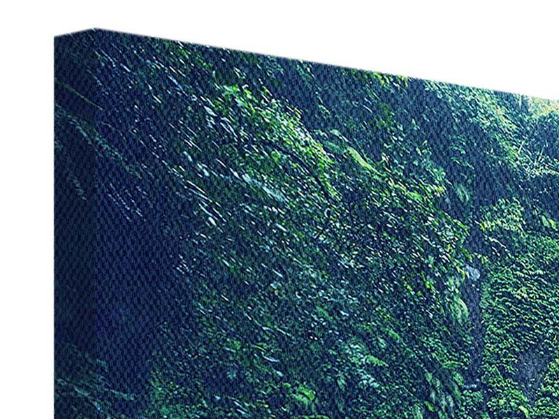 Panorama Leinwandbild 3-teilig Natur
