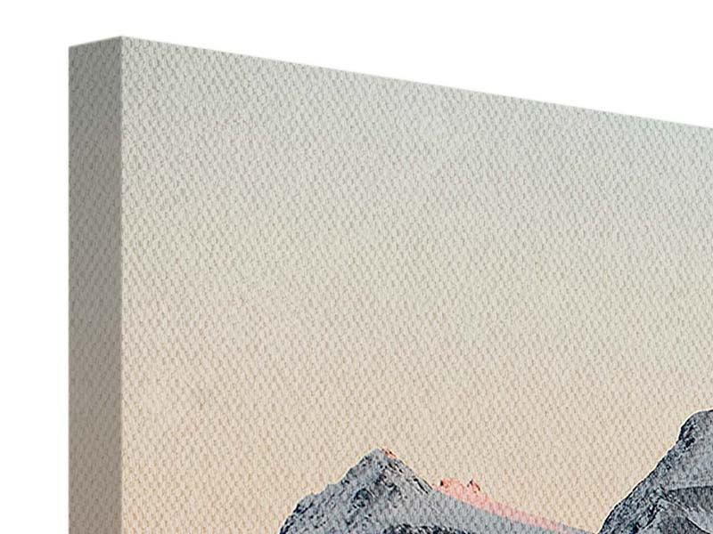 Panorama Leinwandbild 3-teilig Die Antarktis