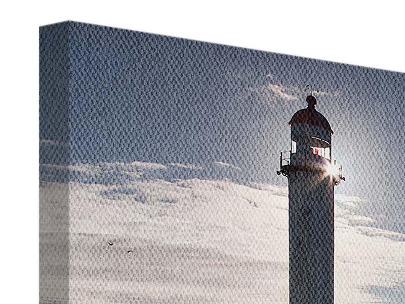 Panorama Leinwandbild 3-teilig Sailing