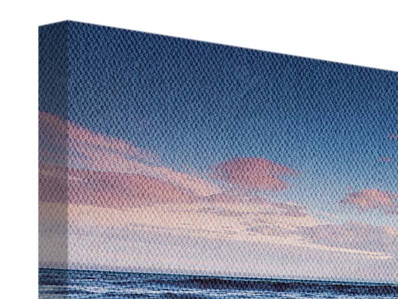 Panorama Leinwandbild 3-teilig Ort der Sehnsucht