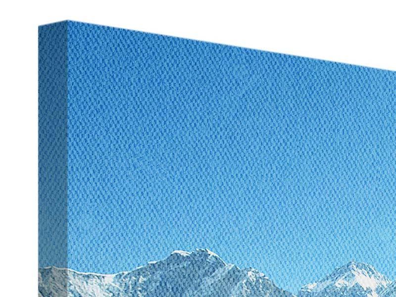 Panorama Leinwandbild 3-teilig Das Himalaya-Gebirge
