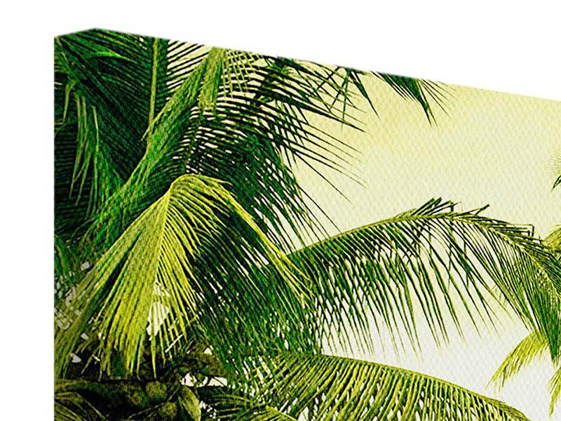 Panorama Leinwandbild 3-teilig Reif für die Insel