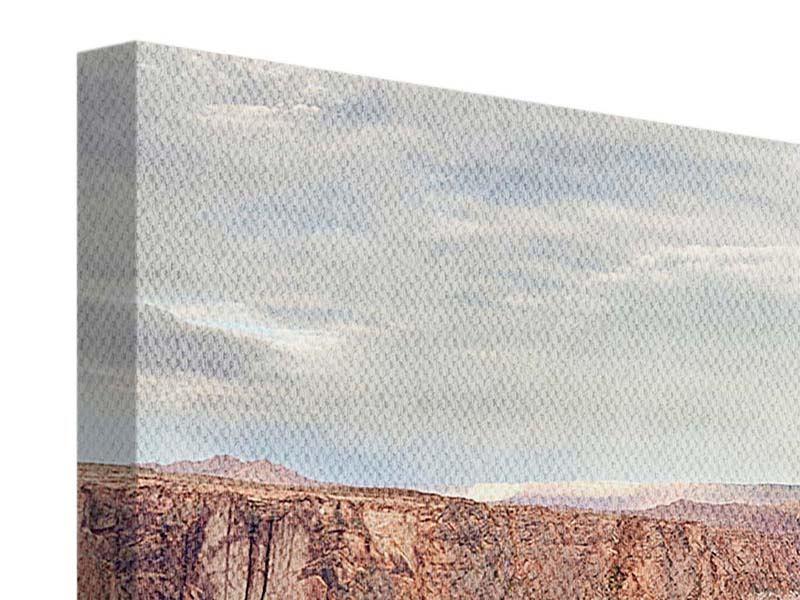 Panorama Leinwandbild 3-teilig Horseshoe Bend